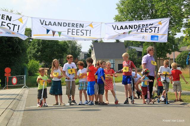 Wijkfeest De Vier Vaantjes  (sponsorloop ten voordele van Indisch weeshuis)