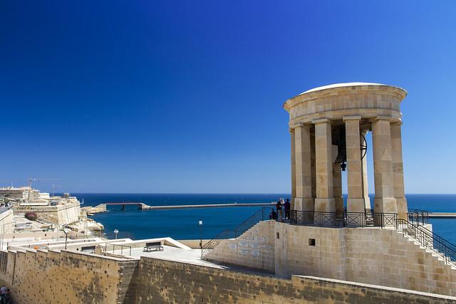 The Victory Bell - Valletta, Malta