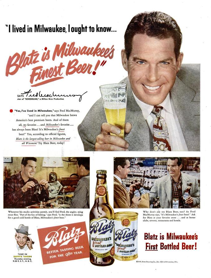 Blatz-1951-fred-macmurray
