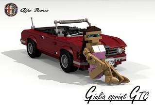 Alfa Romeo Giulia GTC 105-Series Cabriolet