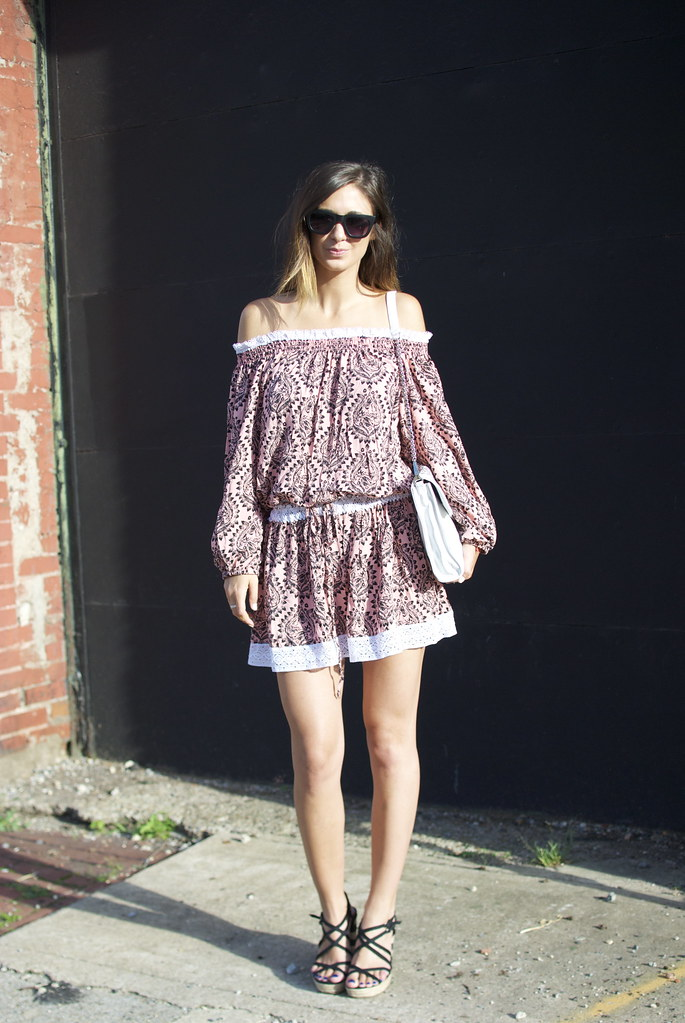 off the shoulders dress, free people dresses