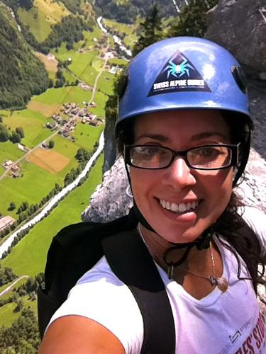Via Ferratta Murren Switzerland