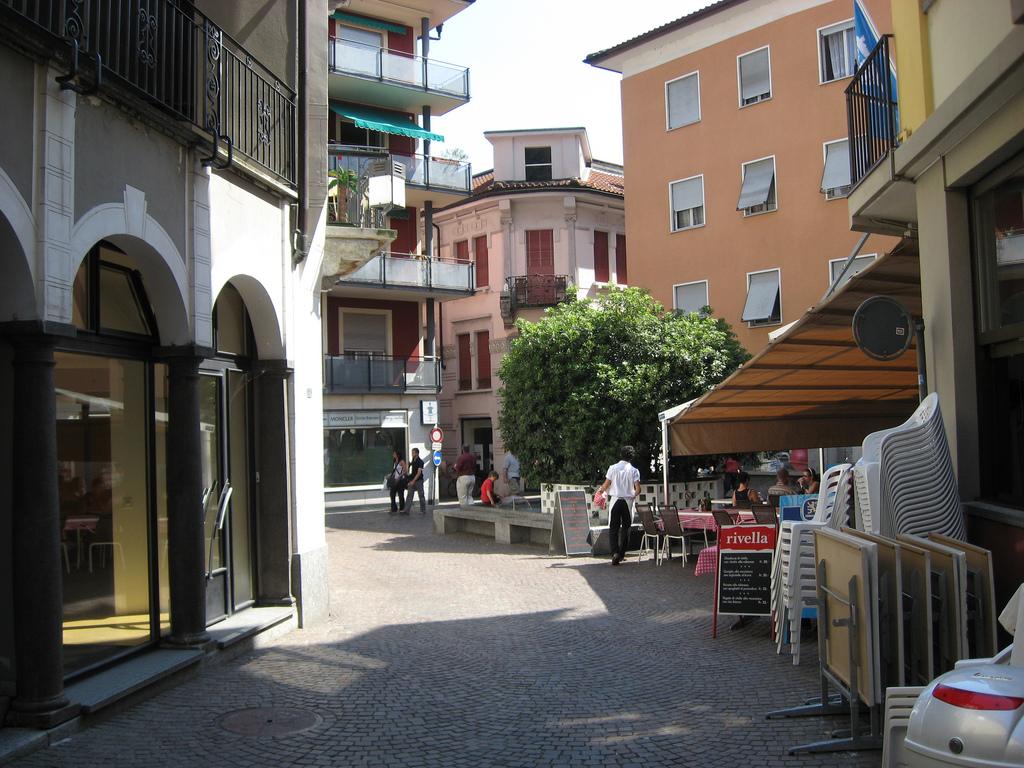 Un rincón en el casco antiguo de la ciudad. Autor, Bbarblan