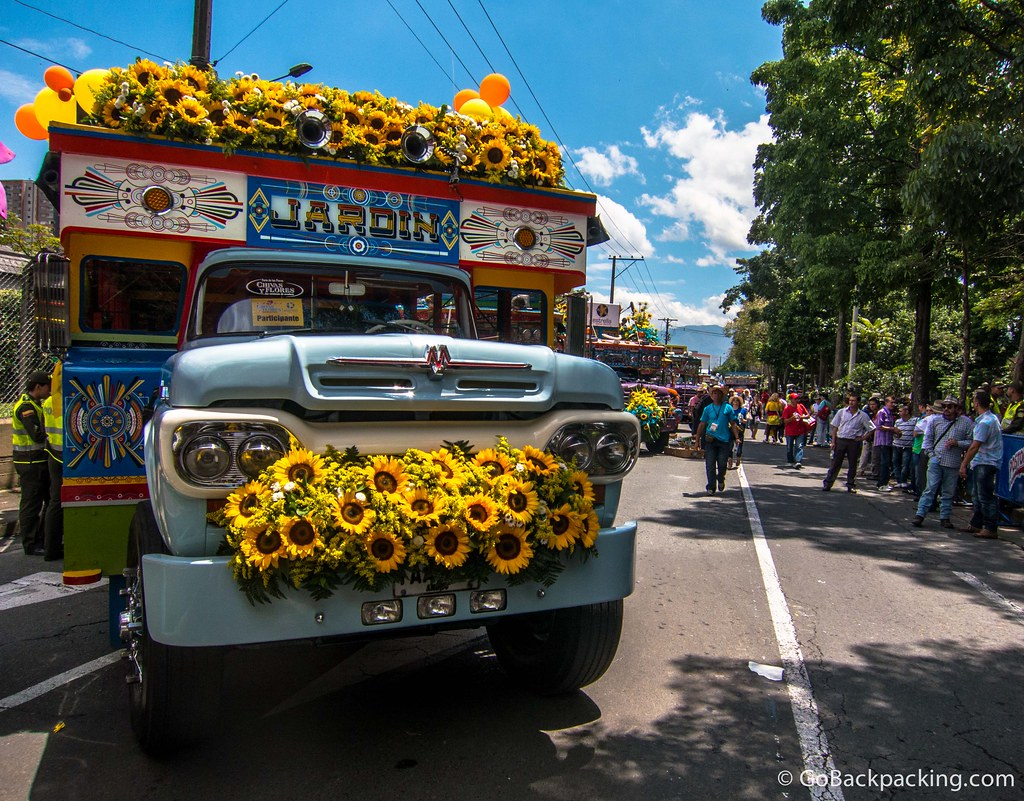 The Jardin chiva, featuring tons of sunflowers, was one of my favorites