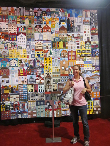 """Berne House Quilt"", Bernese Quilters of Berne, Switzerland, it's big!"