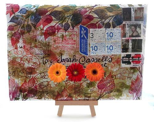 Mail Art Bonus 2013-372 front by Miss Thundercat
