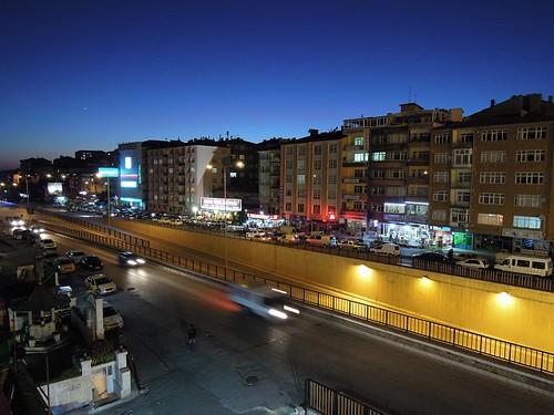 Yozgatの夕暮れ時