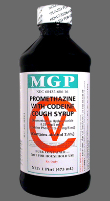 codeine promethazine cough syrup lean sizzurp purple drank
