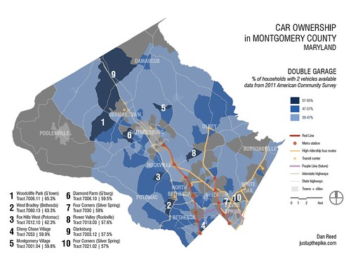 Households with 2 cars
