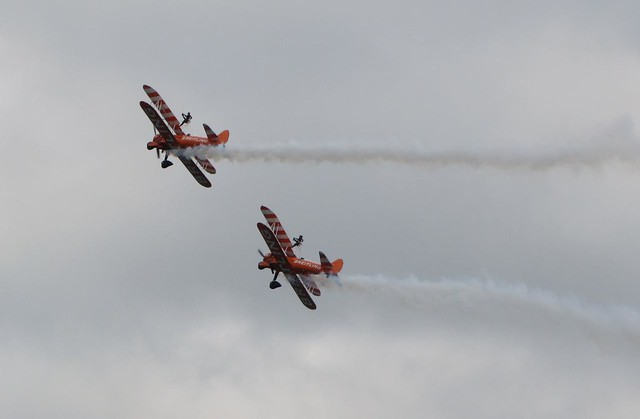 Breitling Wing Walkers - Airbourne 2013
