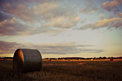 blue sunset summer sky sunlight ontario canada nature field skyline clouds rural landscape nikon shadows farm gimp samsung niagara master exotic pasture lincoln fields layer bales hdr goldenhour haybales ribbet tistheseason photomatix beamsville tonemapping nikkor1855mm agricolo agricoltore d5100 samsungmaster exoticimage pinnaclephotography poeexcellence paulboudreauphotography nikond5100