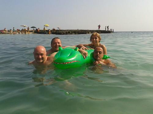 #rotolandoversosud2013 ok il mare by manuelongo