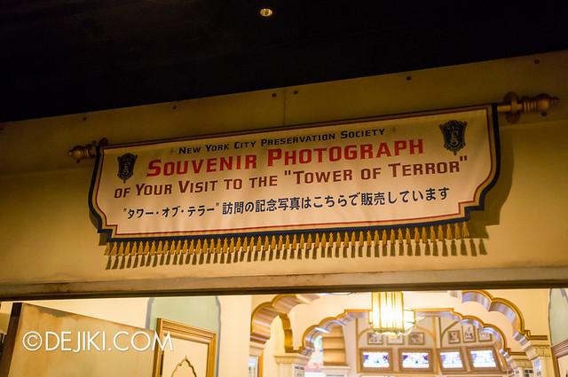 Tokyo DisneySea - Tower of Terror / tour exit 4