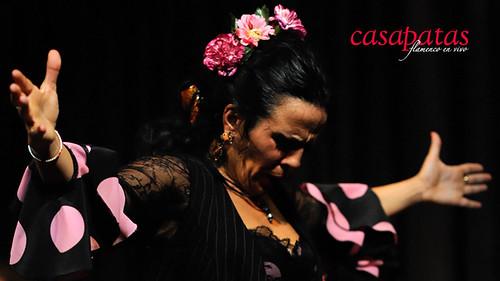 La bailaora Isabel vega. Foto: Martín Guerrero