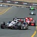 Will Power leads Dario Franchitti into Turn 9 at Sonoma Raceway