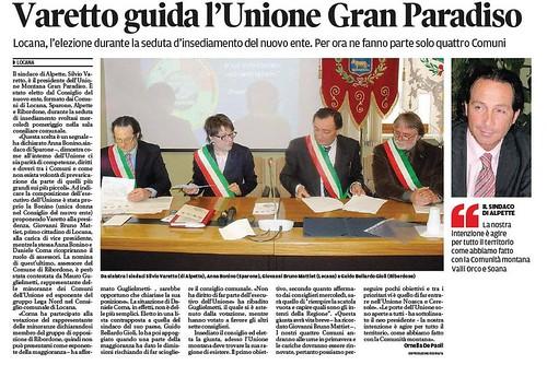 Varetto guida l'Unione del Gran Paradiso