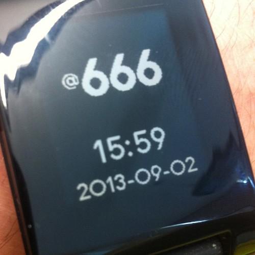 It's @666!