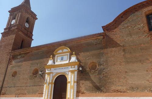 Huelva - Alosno - Iglesia de Nuestra Señora de Gracia - Puerta de San Juan Bautista  37 32' 58.32 -º 6' 52.60