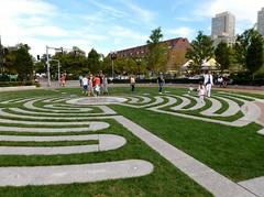 Greenway labyrinth