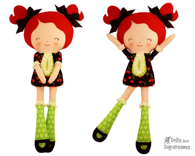 Miss Tippy Toes Doll Sewing Pattern