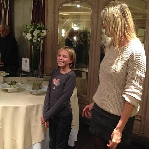 Anouk Viger (fille de Sophie) #girlpower3 new generation. @Girlpower3 @lutetia #paris #nofilter