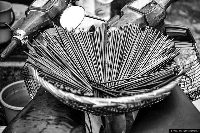 Drying Chopsticks