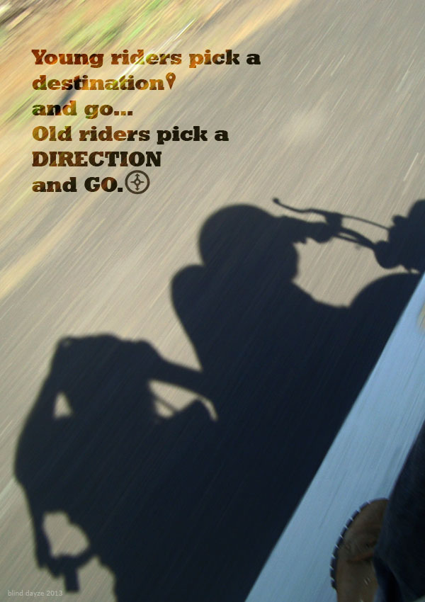 Pick a Direction and Go