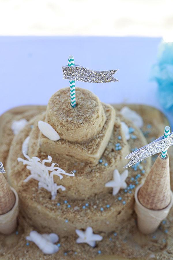 sandcastle cake 2