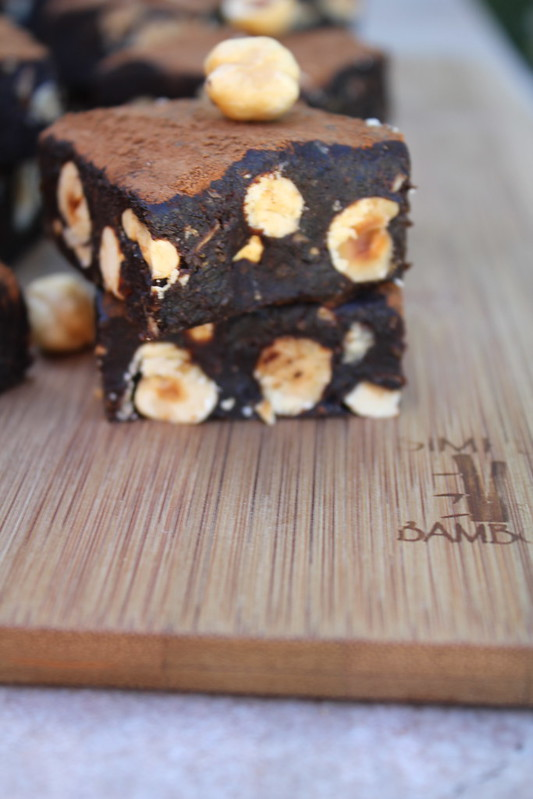 hazelnut fudge raw