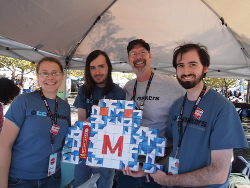 Cape Cod Makers at NY Maker Faire
