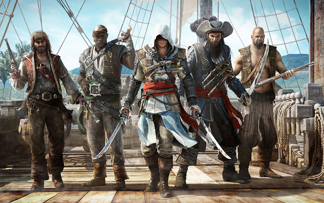 Assassin's Creed Black Flag Game Wide Wallpaper