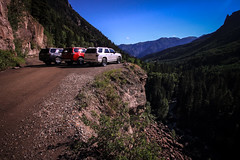 2014 4Runners overlooking Ouray