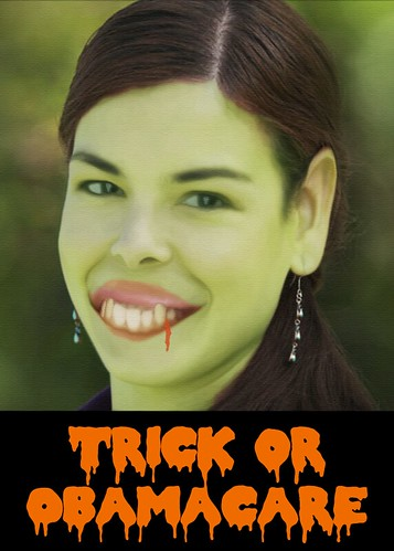 TRICK OR OBAMACARE by WilliamBanzai7/Colonel Flick