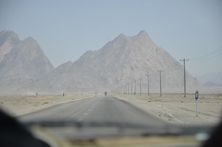 Carretera en Irán