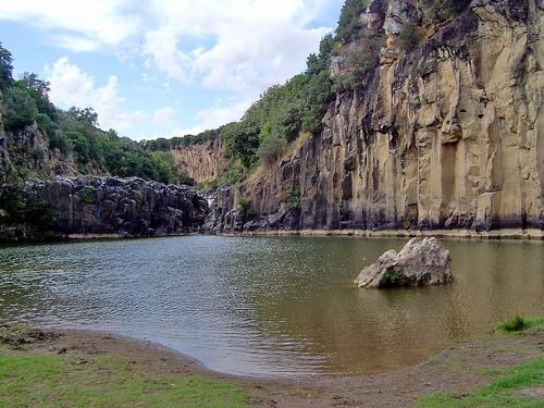 Vulci - Der Pelikan See