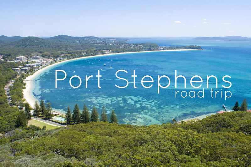 Port Stephens road trip Australia