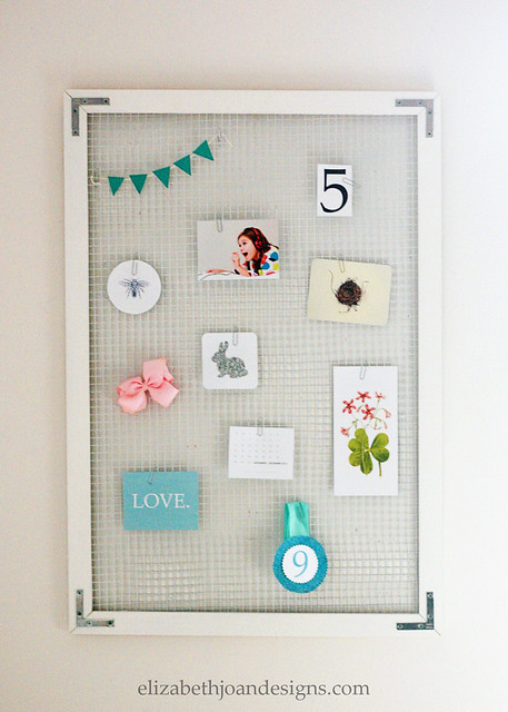 Wire Mesh Pin Board 8