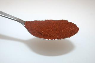 12 - Zutat Cayennepfeffer / Ingredient cayenne pepper