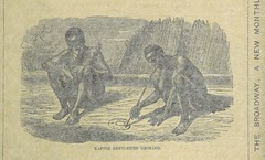 Image taken from page 173 of 'The Natural History of Man; being an account of the manners and customs of the uncivilized races of men ... With new designs by Angas, Danby, Wolf, Zwecker, etc., etc. Engraved by the Brothers Dalziel'