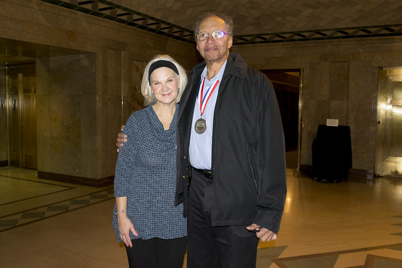 Walter Dean Myers visits Joslyn Art Museum