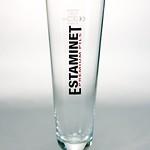 ベルギービール大好き!!【エスタミネ・プレミアム・ピルスの専用グラス】(管理人所有 )