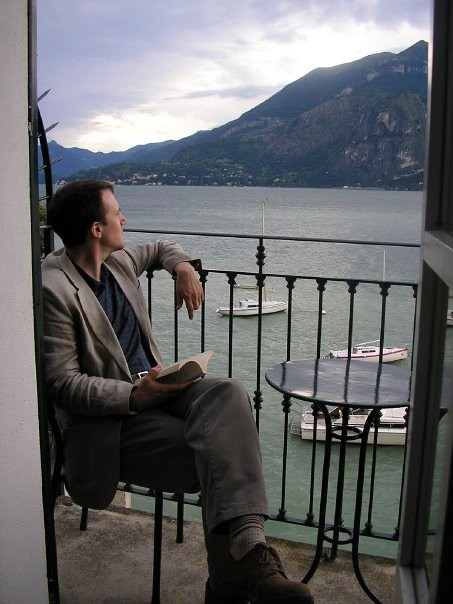 Lake Como in the late afternoon, a good book and a waterfront balcony outside our hotel room – it doesn't get much better than this