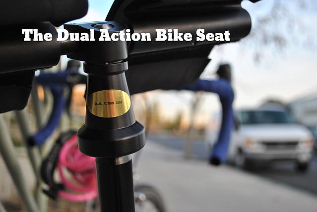 Dual Action Bike Seat