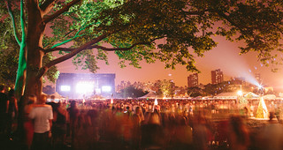 Gov Ball NYC Stage from afar. 6.8.13