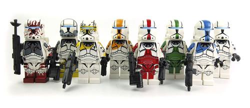Lego Star Wars Commandos by LaPetiteBrique.com
