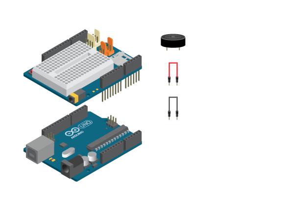 Circuito Zumbador Piezoelectrico : Beep creative technologies