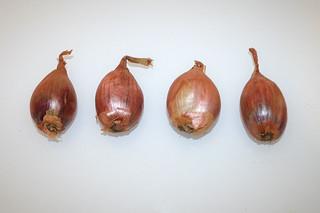 01 - Zutat Schalotten / Ingredient shallots
