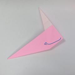 สอนการพับกระดาษเป็นลูกสุนัขชเนาเซอร์ (Origami Schnauzer Puppy) 026
