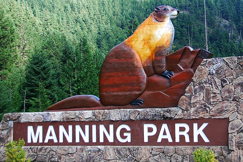 Manning Provincial Park, Cascade Mountains, Hope, British Columbia, Canada