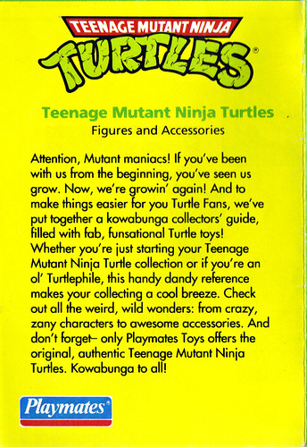 TEENAGE MUTANT NINJA TURTLES :: Collector's Guide i (( 1993 ))